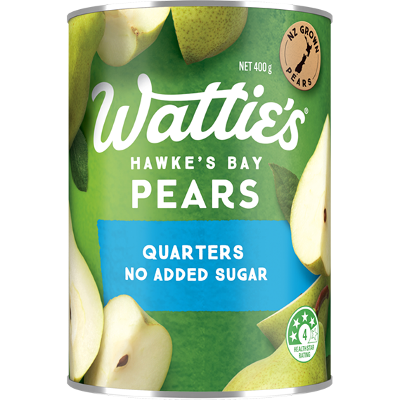 Lite Pear Quarters with No Added Sugar
