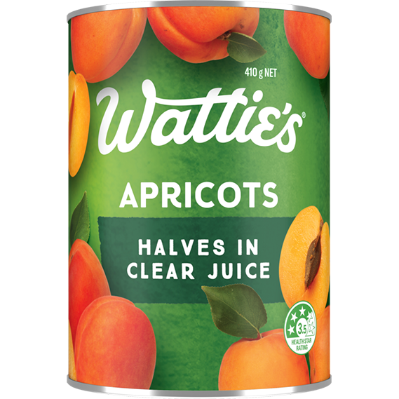 Apricot Halves in Clear Juice