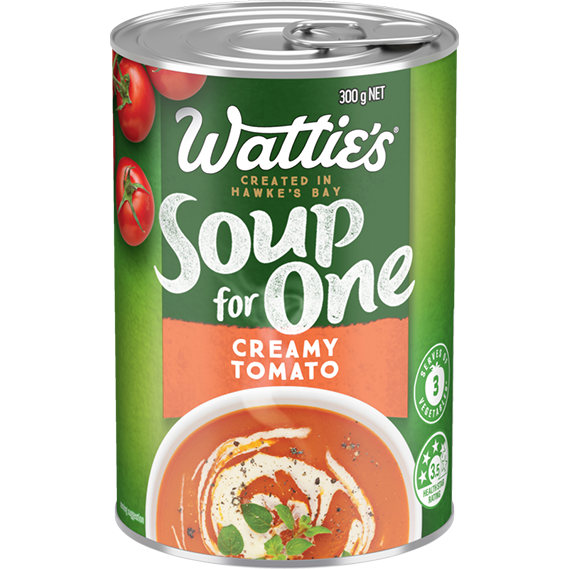 Creamy Tomato Soup for One™