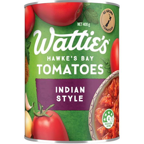 Indian Style Tomatoes