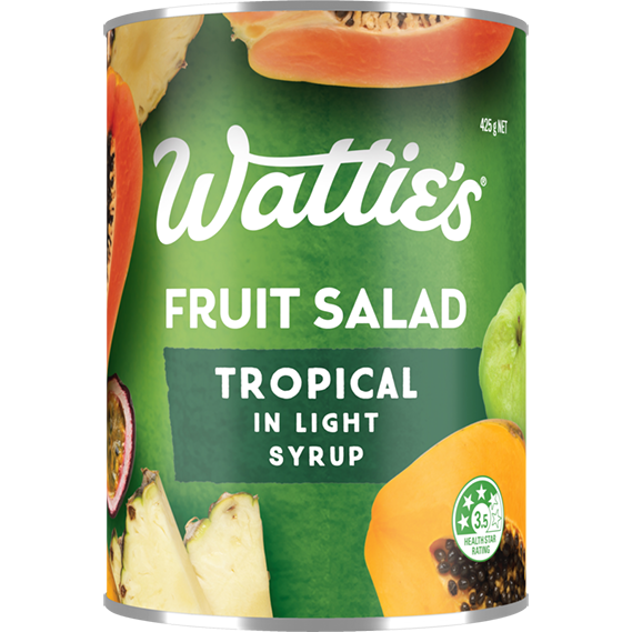 Tropical Fruit Salad in Light Syrup