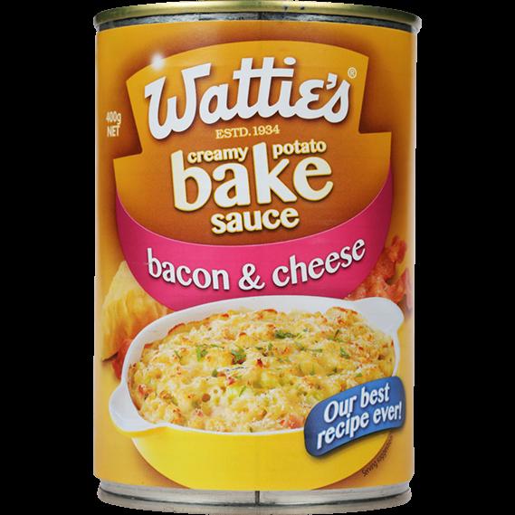 Potato Bake Sauce Bacon & Cheese