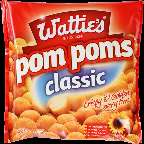 Wattie's Famous Potato Pom Poms