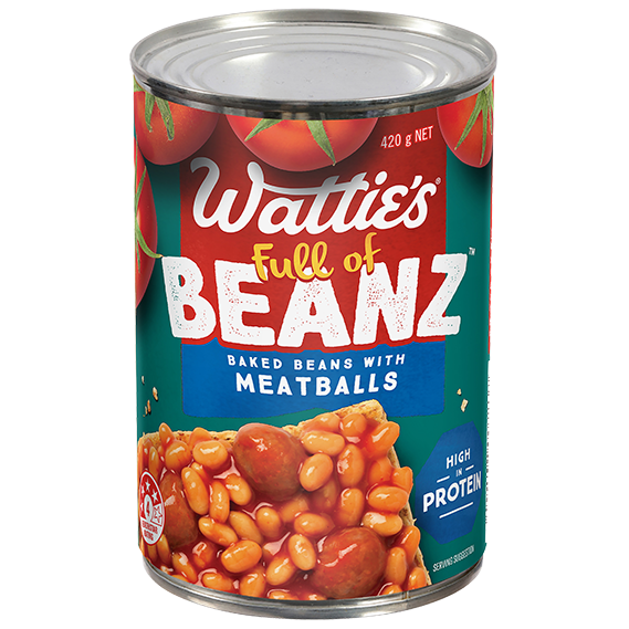 Baked Beans with Meatballs