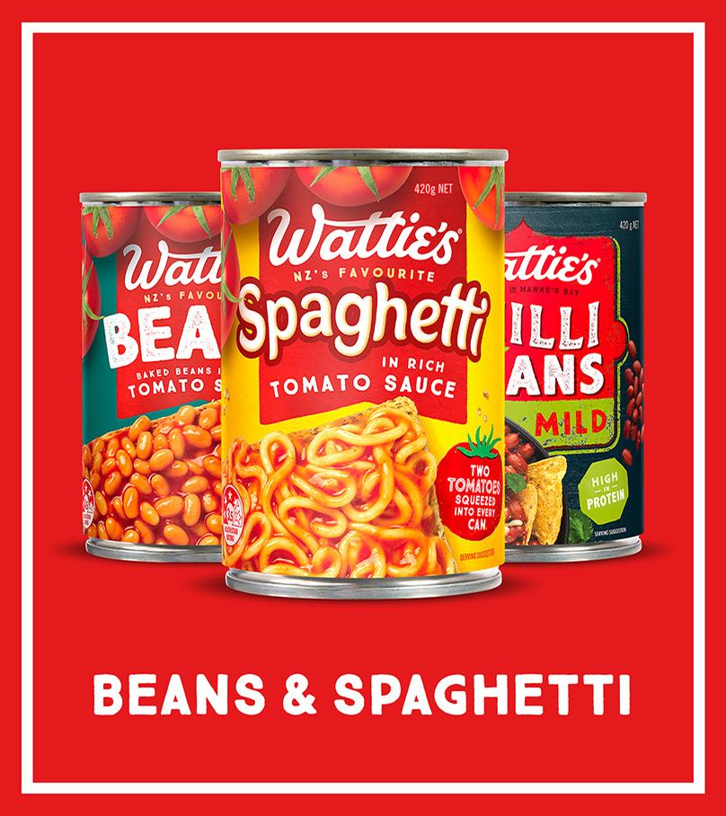 Beans & Spaghetti