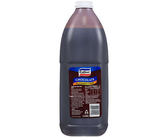 3L Cottee's Chocolate Flavoured Syrup