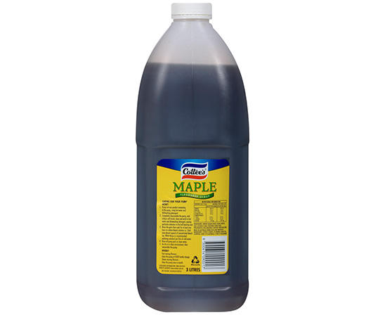 3L Cottee's Maple Flavoured Syrup
