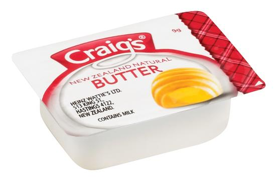 9g Craig's Butter Portion