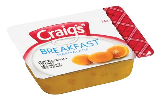 14g Craig's Marmalade Portion
