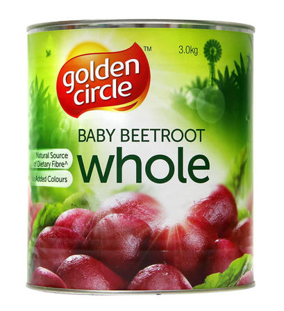 3kg Golden Circle Baby Beetroot Whole