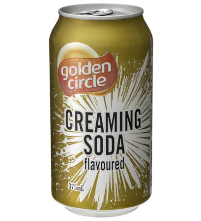 375mL Golden Circle Creaming Soda