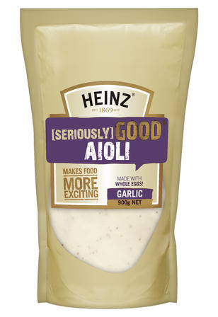900g Heinz Seriously Good Aioli