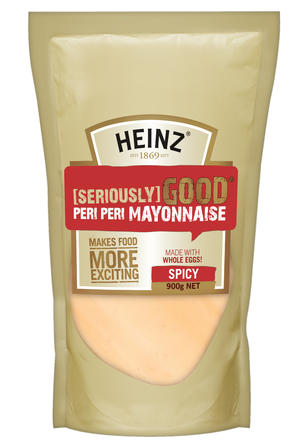 900g Heinz Seriously Good Peri Peri Mayonnaise