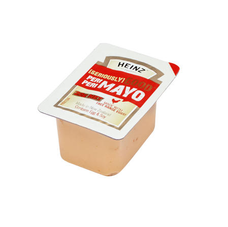 22g Heinz Seriously Good Peri Peri Mayonnaise Portion