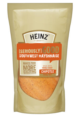 900g Heinz Seriously Good Southwest Chipotle Mayonnaise