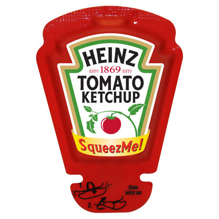26mL Heinz Tomato Ketchup SqueezMe image
