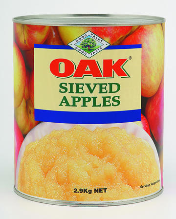 2.8kg Oak Sieved Apple image