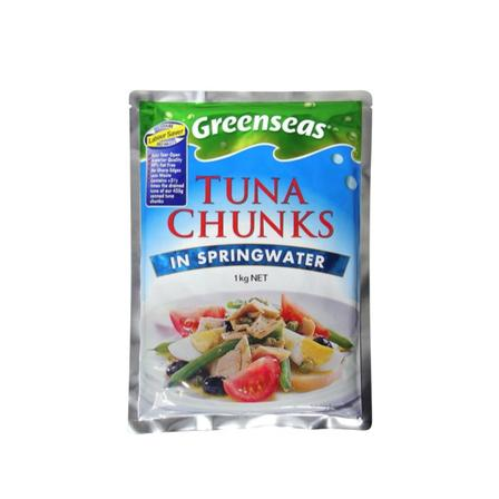 1kg Greenseas Tuna Chunks in Springwater