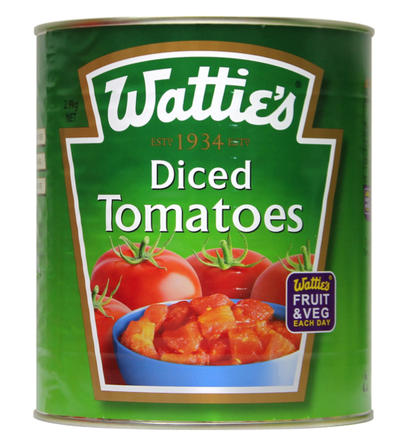 2.80kg Wattie's Tomatoes Diced image