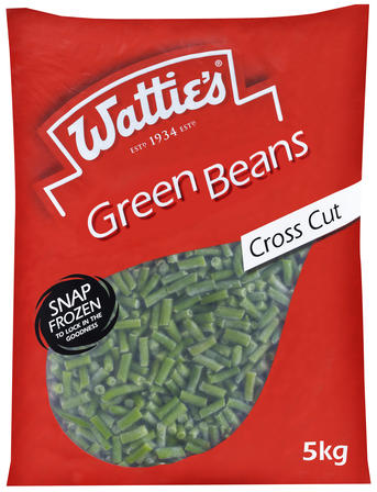 5kg Wattie's Cross Cut Green Beans image
