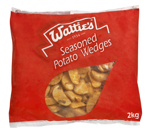 2kg Wattie's Seasoned Wedges image