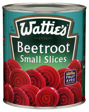 2.95kg Wattie's Beetroot Small Slices