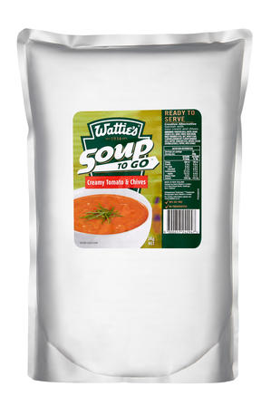 3kg Wattie's Soup To Go Tomato & Chives