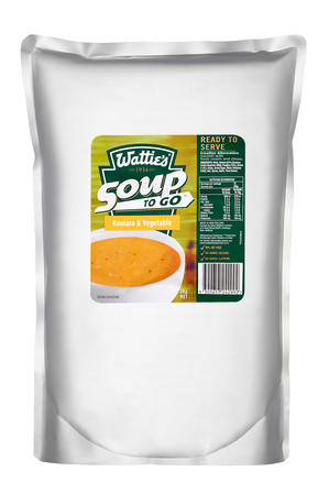 3kg Wattie's Soup To Go Kumara & Vegetable