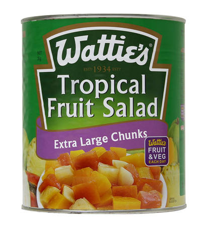 3kg Wattie's Tropical Fruit Salad in Syrup image