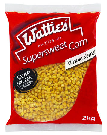 2kg Wattie's Whole Kernel Corn