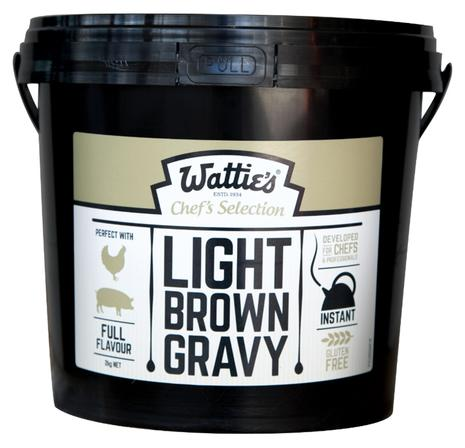 2kg Wattie's Light Brown Gravy