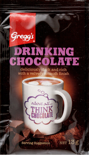 13g Gregg's Hot Chocolate Sachet