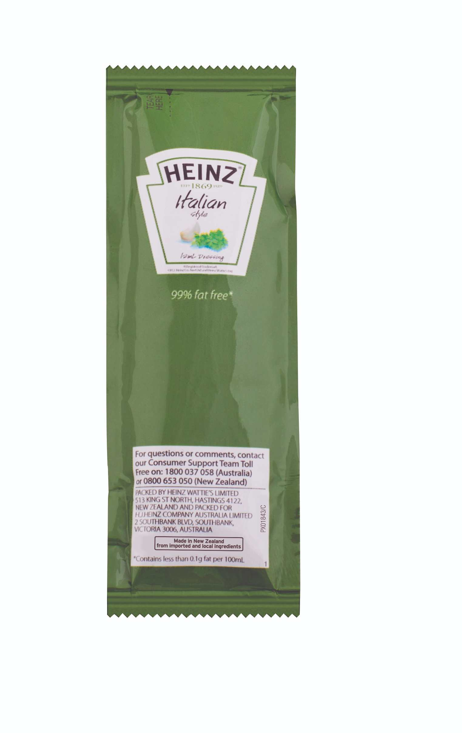 12mL Heinz French Dressing Sachet image
