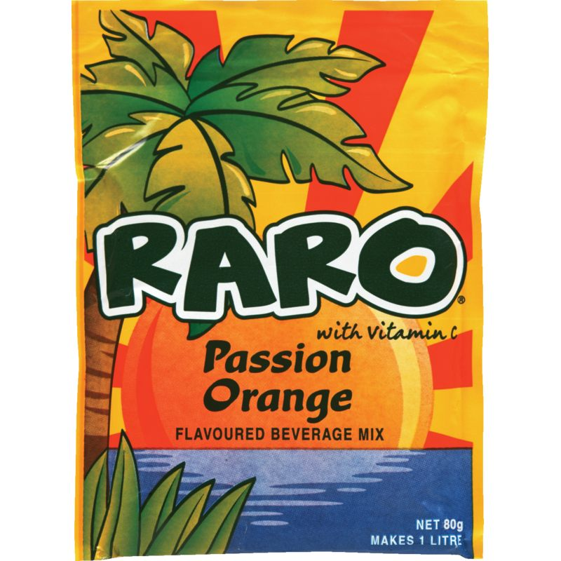 80g Raro Passion Orange