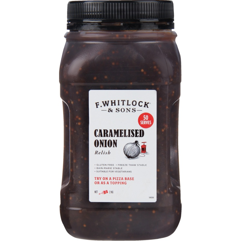 2kg F. Whitlock & Sons Caramelised Onion