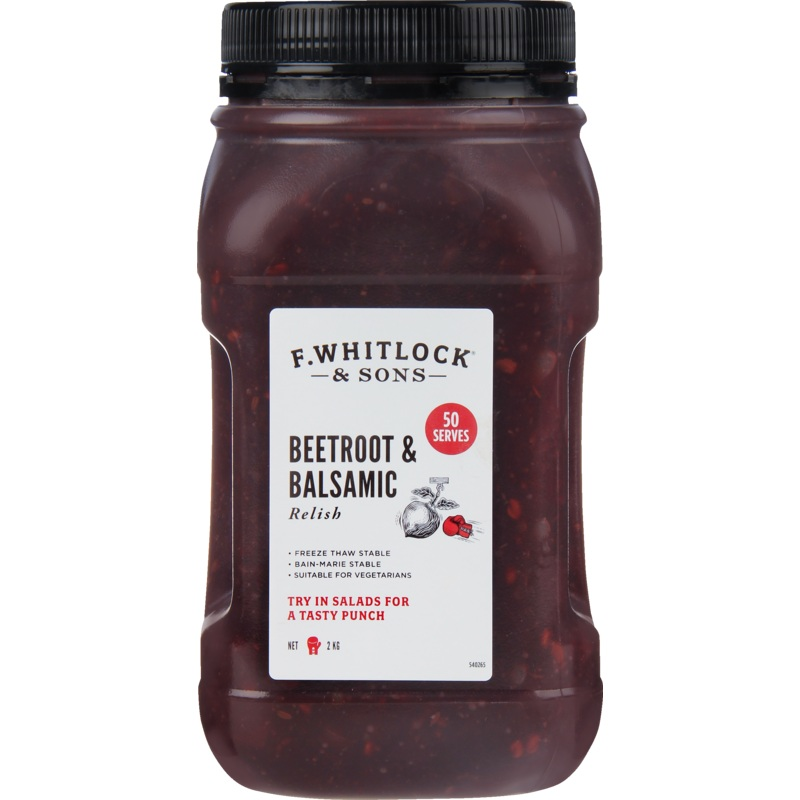 2kg F. Whitlock & Sons Beetroot and Balsamic
