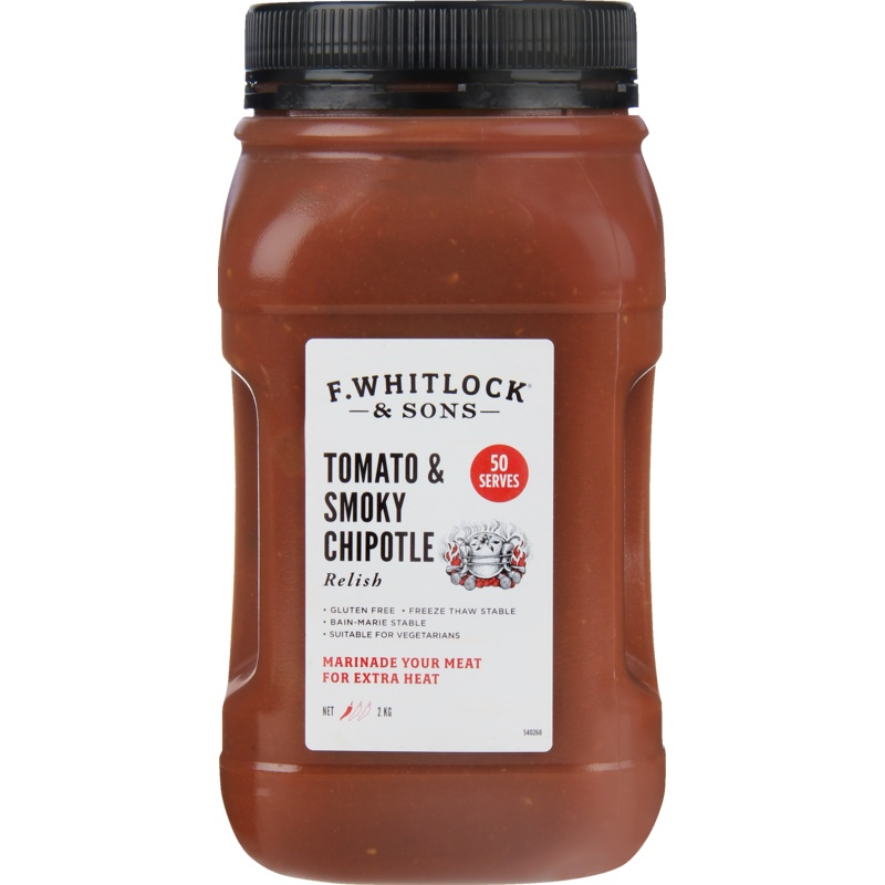 2kg F. Whitlock & Sons Tomato & Smokey Chipotle Relish image