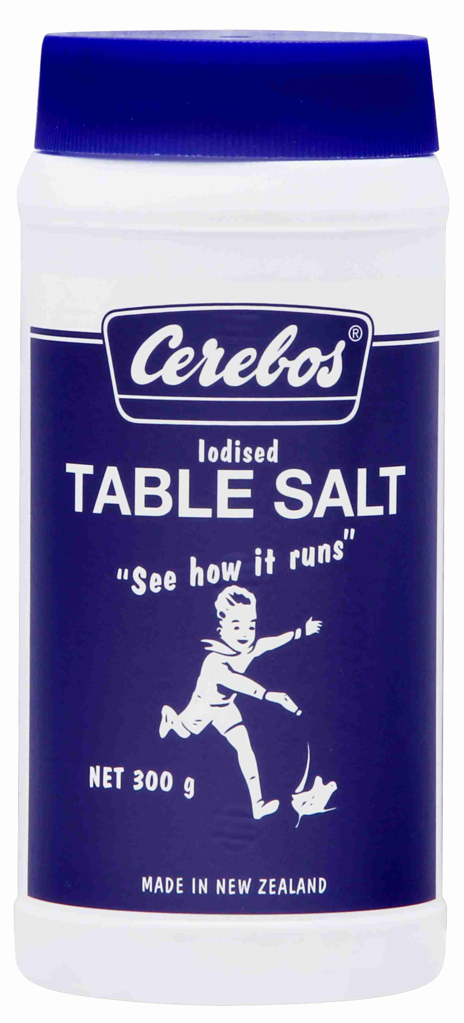 300g Cerebos Iodised Table Salt 24 pack image