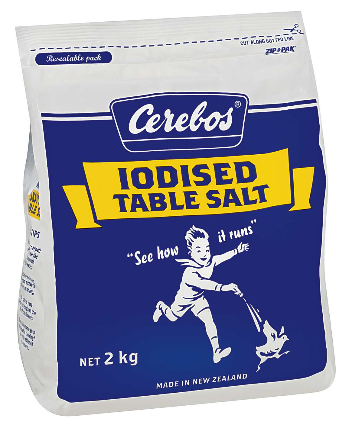2kg Cerebos Iodised Table Salt