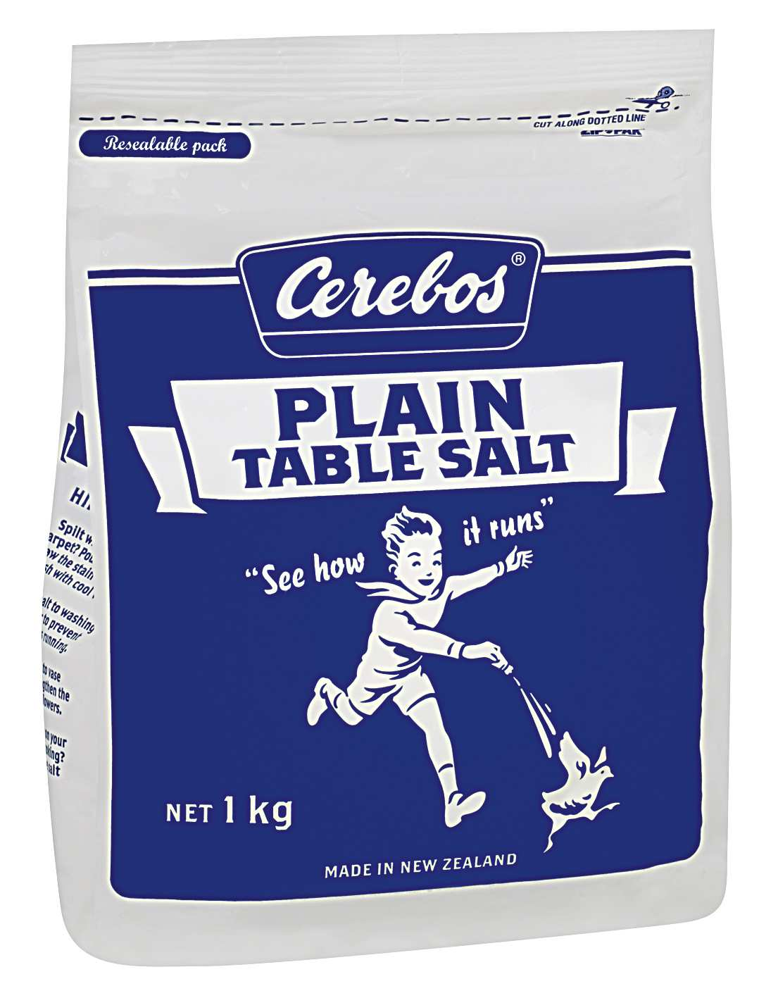 1kg Cerebos Plain Table Salt