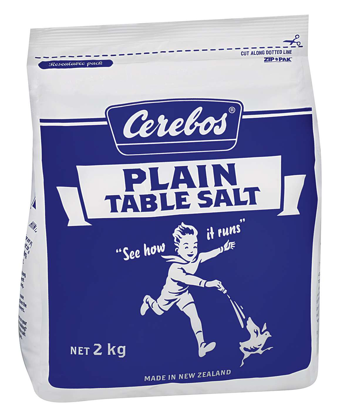 2kg Cerebos Plain Table Salt