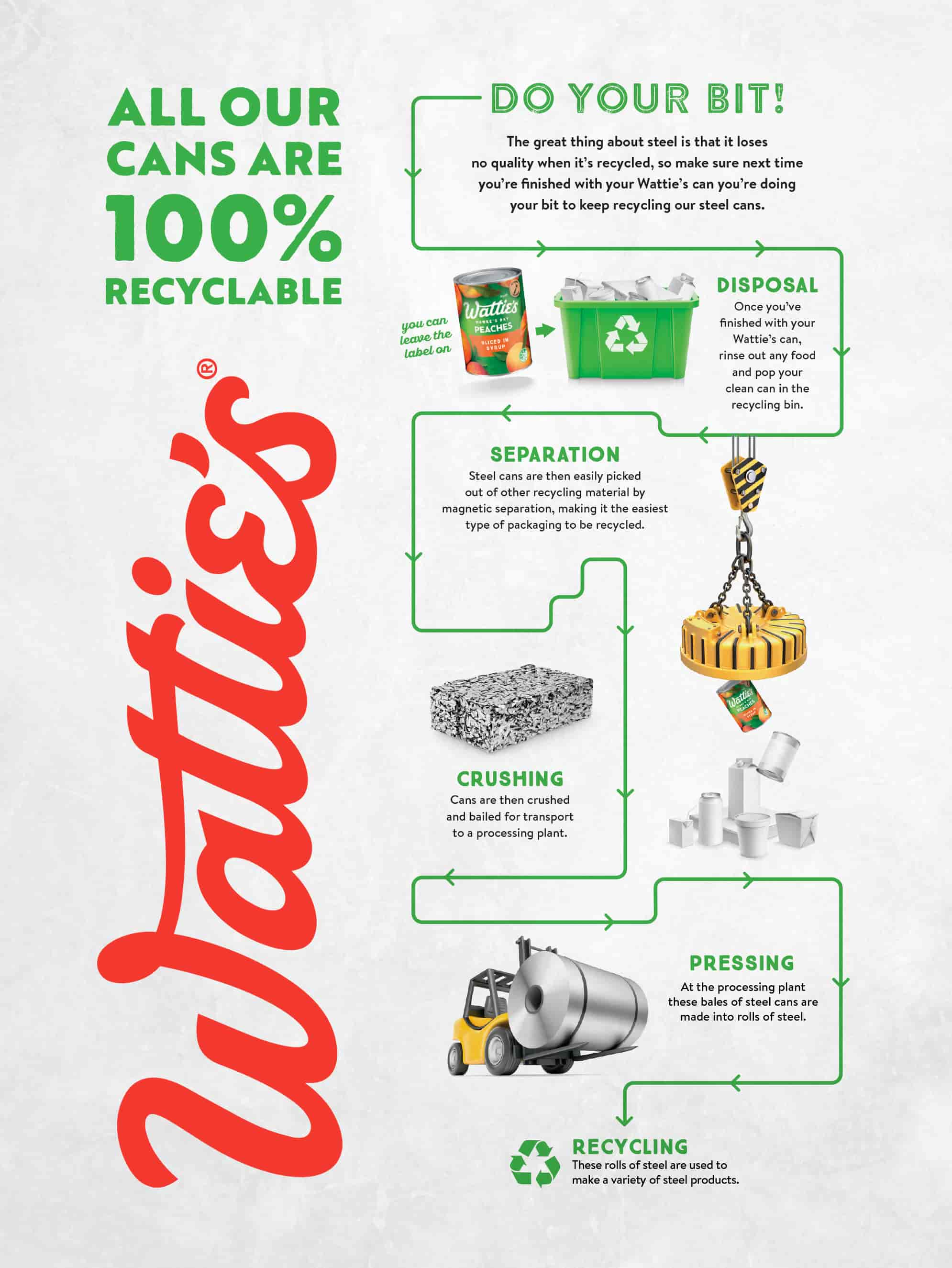 Wattie's Can Recycling Process